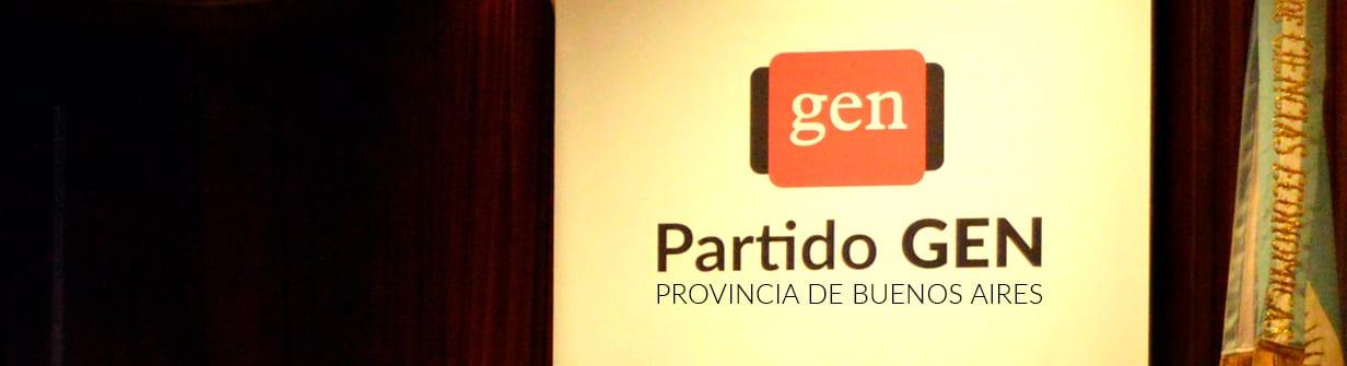 Partido GEN Provincia de Buenos Aires
