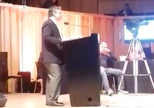 Sergio Abrevaya - Presidente del GEN de Stolbizer en CABA - se presentó como orador en la Audiencia Pública por Tarifas de Gas como representante del partido.