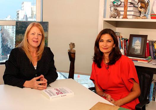 Margarita Stolbizer en DIMELO TU con Mariana Arias