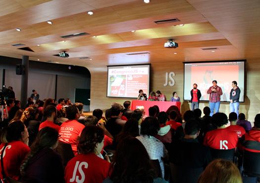 La Juventud del Partido GEN acompañó este histórico momento para las juventudes socialistas con una comitiva federal de cuatro integrantes de diferentes provincias, que saludaron el encuentro en su instancia de apertura.