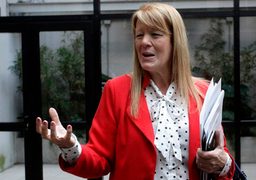 """Stolbizer: """"La señora de kirchner es responsable de los delitos que se cometieron en los últimos años en contra de la administración publica y existen tantas pruebas que no podrá eludir una condena judicial"""""""