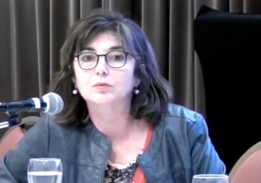 """""""Transformación de la educación para el acceso al trabajo digno"""". Dra. Claudia Jacinto."""