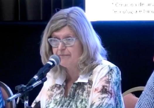 """""""Transformación de la educación para el acceso al trabajo digno"""".  Dra. Claudia Balagué."""