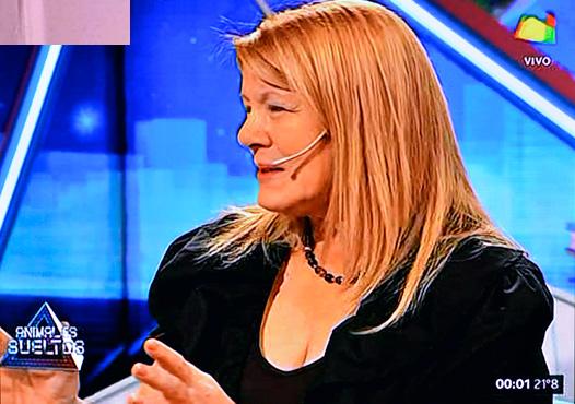 Margarita Stolbizer en Animales Sueltos con Alejandro Fantino