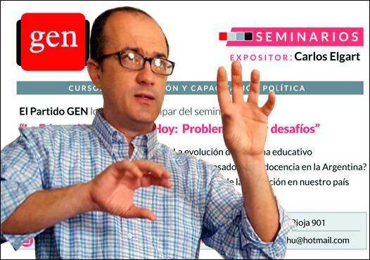 Este sábado 3 de diciembre comenzaron los Cursos de Formación y Capacitación Política que organiza el Partido GEN de Entre Ríos.