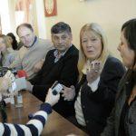 Conferencia de prensa en Carmen de Areco 05 09 2017