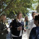 Margarita con vecinos del barrio Prado en San Antonio de Areco 05 09 2017