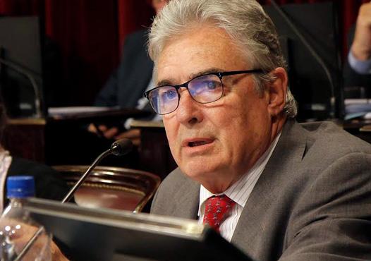"""Jaime Linares manifestó en un plenario de comisiones que debate las leyes de reforma previsional y consenso fiscal que """"Es un acuerdo básico e imprescindible para pensar en un país en el mediano plazo""""."""