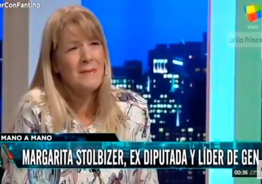 Margarita Stolbizer con Alejandro Fantino en Animales Sueltos 16/4/2018